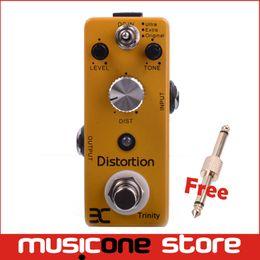 Wholesale Case Da - EX Micro Pedal DA-3 TC-12 Trinity Distortion Amplifier Metal Case Mini pedal EX PEDAL Free connector MU0128