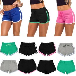 Wholesale Drawstring Sports Skirt - Fashion Summer Sports Women Shorts Leisure Elastic Waist Women Shorts Female Casual Yoga Short Running Shorts
