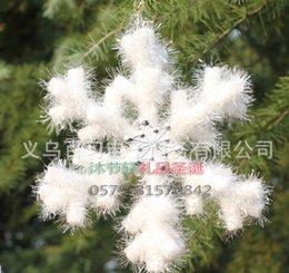 Wholesale Hair Foam Decorations - 30cm Christmas three-dimensional foam snowflake snowflake Christmas decoration gift new year enfeites de natal beautiful noel