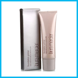 Wholesale Mineral Cream Makeup - Makeup Laura Mercier Foundation Primer Hydrating Mineral Oil Free Base 50ml 4styles High Quality Face Makeup Natural Long-lasting 60pcs