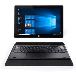 Wholesale Netbook Inch Windows - HaoGeely Microsoft win10 laptop 10 inch PC tablet combo game netbook keyboard window tablet mini pc bluetooth