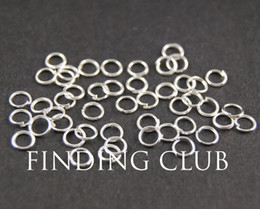Wholesale 500 mm mm mm Silver plated Open Jumprings Jump rings split rings DIY supplies jewelry accessories