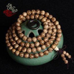 Wholesale Vietnamese Bead Bracelets - 108 Vietnamese natural incense rosary beads bracelet Bracelet valuable collections of jewelry factory direct wholesale
