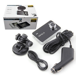 "h 264 grabadora Rebajas 2.4 ""720P Cámara Dvr para automóvil Videocámara K6000 Cámara para automóvil DVR Full HD Videocámara DVR Versión nocturna Lente gran angular DVR"