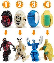 conjuntos de brinquedos de dinossauro de plástico Desconto ovos Ultra Ultraman Figura Transformable mudança brinquedos monstro deformado presente menino ovo