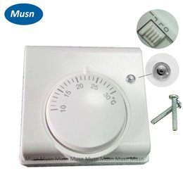 Wholesale Central Air Temperature - Air Thermostat Mechanical Thermostat Room Temperature Controller Central Air Controller for Homeuse SG-2000