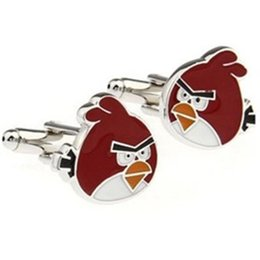 Wholesale Market Copper Price - FCAngry Birds fun wit French cufflinks Free Shipping High Quality Wholesale high quality low price procurement markets