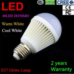 Wholesale Energy Saving Spotlight Lamp - High Brightness E27 2835SMD 18W Globe lamp Led Light 85V-265V 40pcs 2835LED Spotlight Led Bulbs Energy-saving Warm Cool Pure White Light