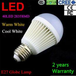 Wholesale E27 18w Cree Globe - High Brightness E27 2835SMD 18W Globe lamp Led Light 85V-265V 40pcs 2835LED Spotlight Led Bulbs Energy-saving Warm Cool Pure White Light