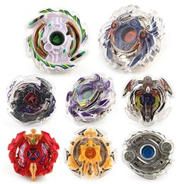 Wholesale New Beyblade Metal Fusion Toys - 8 styles Rapidity Super Top Clash alloy Metal Beyblade 2018 New Children Spinning Tops Beyblades Metal Fusion toys - Including launchers B