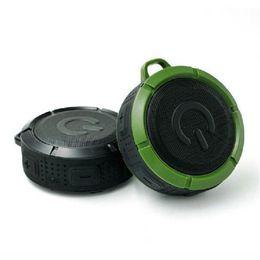 Wholesale f1 mini - PUK-F1 NFC Speakers Bluetooth Built-in Microphone USB Port Waterproof Outdoor Sports Speaker For Samsung HTC LG DHL Free MIS101