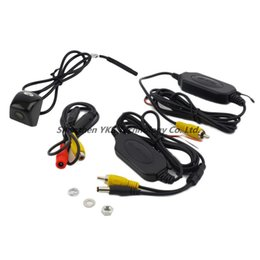 Wholesale Wireless Low Price Camera - High quality free shipping Wireless Car Rear View CCD 170 degree Night Camera Reverse Backup Parking Camera low price
