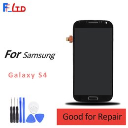Wholesale Display Screen Galaxy S4 - High Quality AAA+++ for Samsung Galaxy S4 i9500 i9505 i9506 i337 LCD Display Digitizer Assembly with Touch Screen Replace 100% Tested
