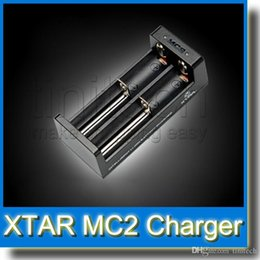 Wholesale Multifunctional Usb Charge Cable - Universal Intelligent 26650 18650 14500 16340 Charging XTAR MC2 Charger Li-ion Battery Charger Multifunctional with USB Cable