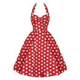 Wholesale Short Dress Polka Dots Black - 2015 MaJolena 2015 Summer Plus Size Retro 50s Swing Pin up Dress Polka Dots Rockabilly Plaid Vintage Dress Short Women Gowns vestidos