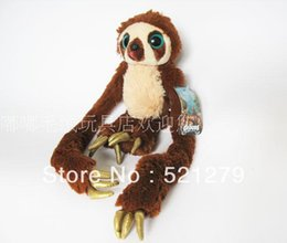 Wholesale Croods Monkey Belt - Free shipping 1pcs 25cm Hot sales Belt Monkey Plush Toy, THE CROODS monkey stuffed doll for Baby  Kids Toy Gift