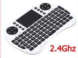 Wholesale Bluetooth Mouse Android Tablet - Rii I8 Remote Fly Air Mouse Mini Wireless Bluetooth Keyboard 2.4GHz Touchpad Remote Control for Tablet PC Android Bluetooth TV Box M8s