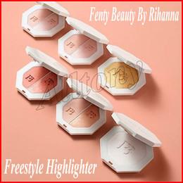 Wholesale Face Contour Palette - Fenty Beauty Rihanna Pro Filt'r Soft Matte GOLD Color Bronzers Highlighters Foundation Face Cosmetics Makeup Contour