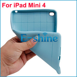 Wholesale Soft Gel Cover For Ipad - Honeycomb TPU Case For iPad Mini 4 Anti-Scratch Flexible Slim Thin Gel Soft Back Skin Cover 3 Colors