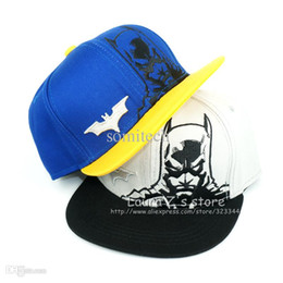 Wholesale Kids Hip Hop Accessories - All for children clothing accessories diamond baseball cap kids snapback batman superman hip hop cap bon gorras bone aba reta