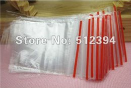 "Wholesale Plastic Shipping Sealing Bags - Wholesale-Wholesale 500Pcs 4X6 Self Sealing Zip Lock Plastic Bags packaging bags 4cmx6cm(1.6""x2.4"") Free Shipping"