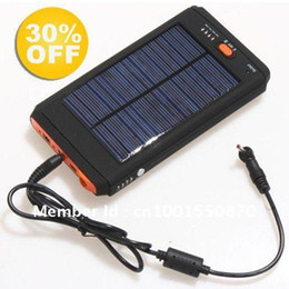 Wholesale Solar Notebook Laptop Charger - 2015 Hot High Capacity 12000mAh Universal Solar Charger For Laptop Notebook Tablet PC Mobile Phone Free Shipping