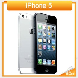 """Wholesale Dual Core 3g Mobile Phone - 2016 Direct Selling Rushed Original Unlcoked Apple Iphone 5 8MP Camera 1GB RAM 16 32 64GB ROM 4.0"""" Dual core 3G 4G Mobile Phone"""