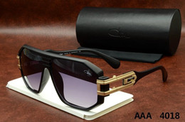 Wholesale Ca Designs - Ca zal Eyewear 4018 Germany top Quality New Vintage brand design Aviator Sunglasses Ca zal sun glasses Black men women Retro polarized lens