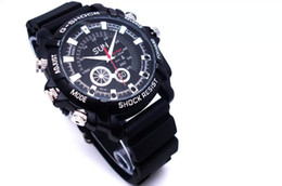 Wholesale Mm Photography - 2018 New HD 1080P Camera Watch Night Vision Waterproof Watch Photograph Real Time Clock Watch Round dial