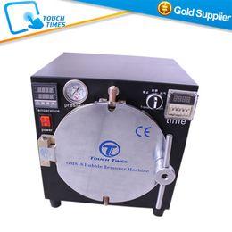 Wholesale Glass Autoclave - Wholesale-Black Mini High Pressure Autoclave OCA Adhesive Sticker LCD Bubble Remove Machine for Glass Refurbishment