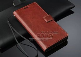 Wholesale Xperia Vintage Case - 20pcs Wallet Phone Bag For Sony Xperia Z3 Vintage PU Leather Case With Stand 3 Card Holders and Photo Frame