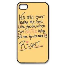 """Wholesale One Direction Iphone Black - One Direction Beach customized fashion design for iphone 6 case 4.7"""" plus 5.5"""" for iphone 4 4s 5 5s 5c Back cover cell phones case"""