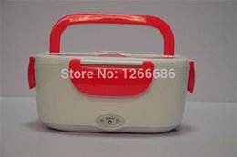 Wholesale Electric Heated Lunch Box - 15pcs lot Multifunctional Electronic Heated Lunch Box Electric Heating Insulation Boxes