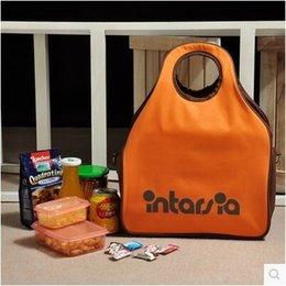 Wholesale Portable Refrigerator Camping - Wholesale-Free Shipping Korean original large ice pack car refrigerator insulation camping portable storage bag Shoulder Bag