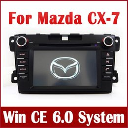 Wholesale Dvd Navigation Dash Radio - Car DVD Player for Mazda CX-7 CX7 2007 2008 2009 2010 2011 2012 2013 with GPS Navigation Radio Bluetooth USB Audio Video Stereo