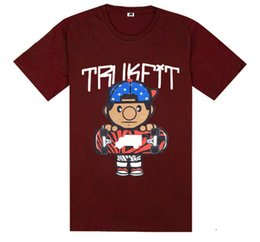 Wholesale Cheap Designer Shirts Men - Trukfit T-Shirts best quality fashion cotton shirt o-neck brand tees man popular t shirts cheap designer free shipping