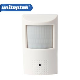 Wholesale ip camera motion detector - PIR STYL Motion Detector HD H.264 1080P IP Hidden Camera 2.0Megapixel Onvif P2P Plug and PlaySecurity Network Cameras