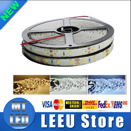 Wholesale Led Strip Cold White 5m - Retail smd 5730 Led Lights Strip 5m Roll 60LEDs m dc 12v Flexible Light Led Strips Wateproof Non-waterproof Warm Cold White Red Blue