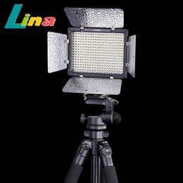 Wholesale Illumination For Cameras - YN-300 LED 300 Leds Illumination Dimming 5500K Video Light YN300 For Canon Nikon SLR Camera