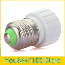 Wholesale E14 B22 Adapter - Edison2011 Lamp Holders Bases for Led Bulb Light Converted E27 B22 E14 To GU10 Adapter Converter Holder Lighting Accessories New Arrival