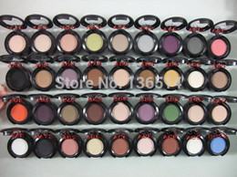 Wholesale Eyeshadow Single Pigment - Wholesale-New high quality Brand Makeup 1.5g single eyeshadow pigment ,36 colors (20 pcs lots )20pcs Free Shipping