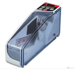 Wholesale Portable Money Machine - Mini Portable Handy Bill money counter for most currency notes Counting Machine EU-V40 financial equipment wholesale