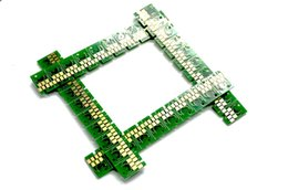 Virutas secas online-20 PC (5 sets BK, C, M, Y, cada uno 4 unids) Reemplazo de cartuchos de tinta chips para Noritsu QSS Green impresora de laboratorio seco