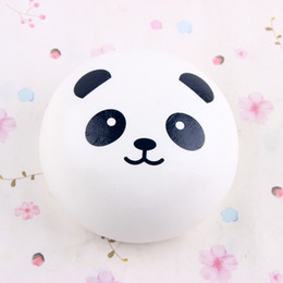 Wholesale Panda Jumbo Bun - 10CM Cute Panda Squishy Buns Bread Charms, Kawaii Soft Scented PU Squishy Jumbo Slow Rising Squeeze Phone Charm Squishies Phone Pendant