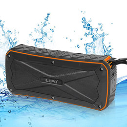 Wholesale Mini Bluetooth Speaker Mp3 Player - Waterproof Bluetooth Speaker Portable Outdoor Subwoofer with Two Speakers Wireless Music Player Shockproof Dustproof Power Bank Function