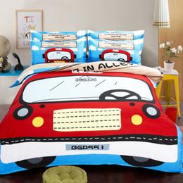 Wholesale Quilt Duvet Kids - CAH029- Multi-Choice Christmas Cartoon Comforter Set for Kids Studennt 3D Print Duvet Bedding Cover Pillow Cases Quilt Cover Bed Bedding Set