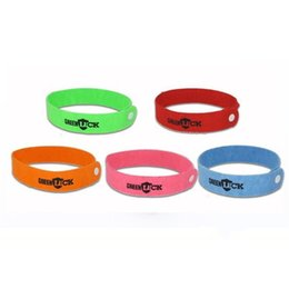 Wholesale Natural Fiber Baby - Mosquito Repellent Bracelet Superfine Fiber Textile Cloth Anti Mosquito Ring for Baby Natural Wristband Pest Control love015
