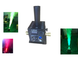 Wholesale Jet Fog - New Modle LED CO2 Jet Fog Machine DMX512 Cryo FX Blast LED CO2 Cannon Special Effect 12*3w 3in1 RGB Stage Equipment