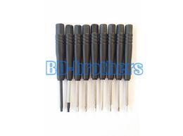 Wholesale Hand Tools Etc - #45 Steel Good Quality Professional Metal Magnetic Black Screwdriver Open Maintenance Mini Hand Tools For PC Phone etc 3500pcs lot.