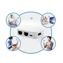 Wholesale Wireless Wifi Router Portable - Smallest WT3020H 300M Portable Mini Router 802.11 b g n AP Repeater Client Bridge Wifi Wireless Router Support USB Flash Drive